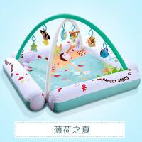 婴儿脚踏钢琴健身架器0-1-3-4-6-9-12个月岁护栏宝宝音乐玩具