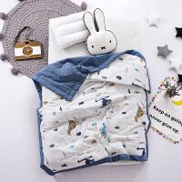 全棉儿童空调被A类60支贡缎夏凉被幼儿园午睡被婴儿宝宝卡通抱被