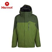 Marmot/土拨鼠GTX全压胶防水防风全天候冲锋衣男式_D30420