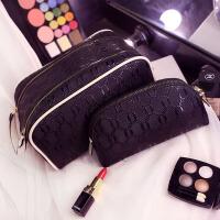 化妆包韩国大容量便携简约手提化妆品收纳包旅行防水多功能洗漱包