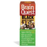 现货 英文原版 Brain Quest 益智挑战 Black History 9岁以上