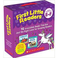 英文原版 小小读者分级阅读First Little Readers Parent Pack: Guided Readi