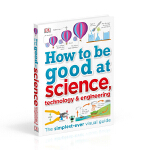 【中商原版】DK如何学好科学 英文原版 How to be Good at Science 小学教辅工具书 6-12岁