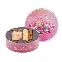 珍妮曲奇小熊饼干 十拼560g礼盒装办公室零食 小吃果仁饼干 顺丰空运包邮