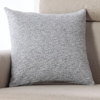 纯色棉线沙发抱枕床头大靠背套办公室椅靠垫汽车靠枕含芯腰枕