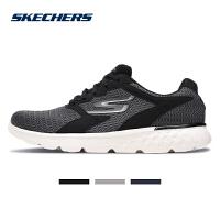 Skehers斯凯奇男鞋新款轻质绑带跑步跑鞋简约时尚运动鞋