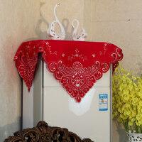 客厅柜式空调罩盖布立式机柜机方形圆形防尘小盖巾2匹3匹格力美的y