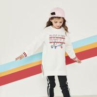 davebella戴维贝拉kids女童卫衣秋装新款中大童洋气上衣DBK12241