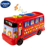 伟易达儿童益智早教玩具英文字母学习玩具车字母巴士