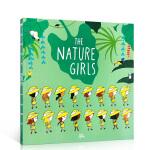 顺丰发货 英文原版 The nature Girls 探索自然的女孩 韵文绘本 平装大开 低幼启蒙百科普 学前教育读物