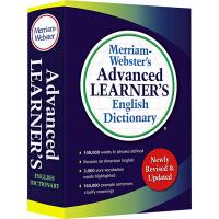 【全店满300减100】麦林韦氏 Merriam Webster's Advanced Learner's Englis