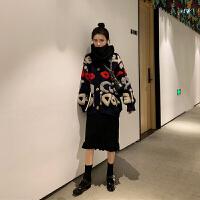 新年特惠晚秋洋气深秋御姐女神欧货潮很仙的毛衣裙子两件套装冬季时尚 图片色套装