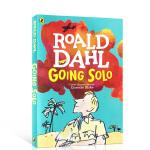 顺丰发货 Roald Dahl罗尔德达尔自传 英文进口原版 独闯天下 Going Solo 好小子童年故事续集 儿童桥