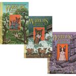 英文原版 Warriors: SkyClan and the Stranger 猫武士 天族和陌生人3册 漫画绘本小说