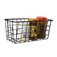 调味料铁艺冰箱侧面收纳篮壁挂侧挂架厨房置物架免打孔菜筐小篮子