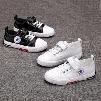 儿童小白鞋春款男童板鞋2019新款女童运动鞋韩版中大童鞋子潮