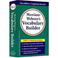 英文原版 韦氏字根词根词典 Merriam Webster's Vocabulary Builder 韦氏三宝 麦林韦氏