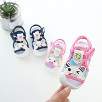 夏季宝宝学步凉鞋 0-1-2-3岁男女童婴儿鞋儿童软底凉鞋沙滩鞋