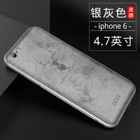 新款�O果6plus手�C��iphone6s保�o套��性��意潮牌6splus全包防摔布�y6p超薄��ぬO果六