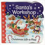 【预订】Santa's Workshop: A Lift a Flap Book 9781680522297