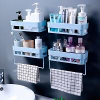 卫生间置物架阳台壁挂洗手间洗漱台吸盘厨房厕所吸壁式免打孔浴室收纳