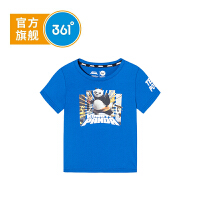 【下单立减】361度童装 男小童T恤2019夏季新品短袖上衣