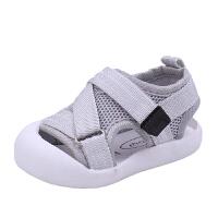 宝宝凉鞋婴幼儿学步鞋1-3岁男女软底防滑小童鞋子包头透气网鞋夏2