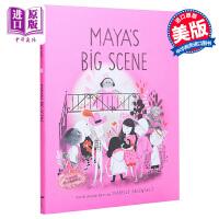 【中商原版】Isabelle Arsenault:Maya's Big Scene 玛雅的大视觉 儿童亲子故事绘本 精装