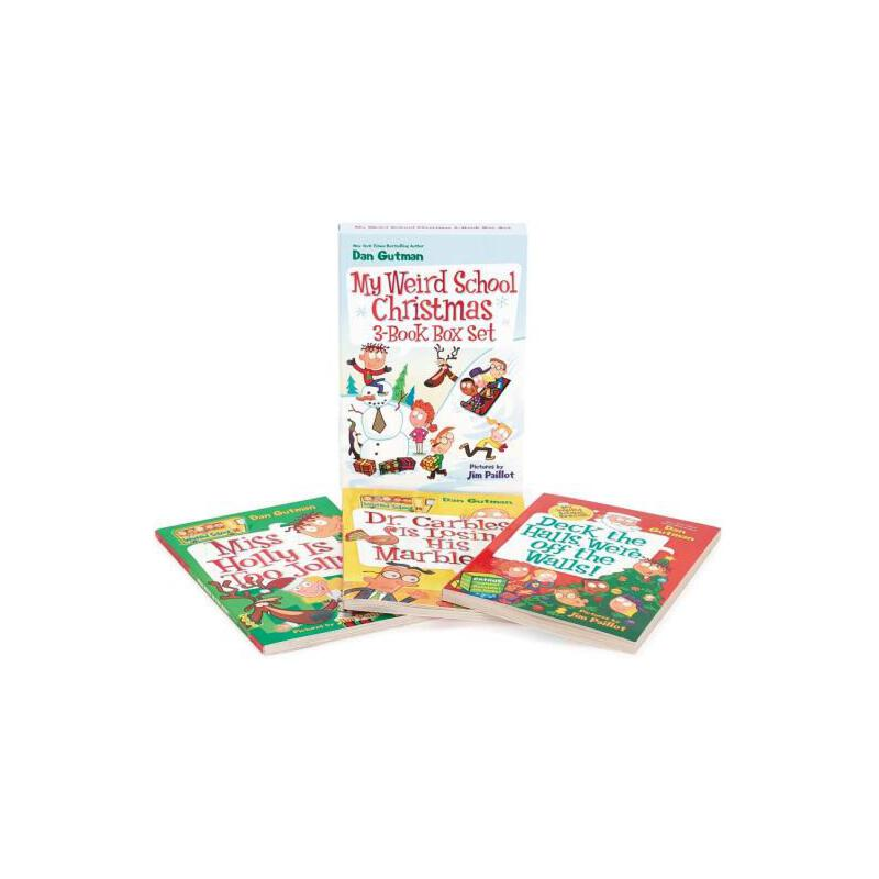 【预订】My Weird School Christmas 3-Book Box Set  Miss Holly Is Too Jolly!, Dr. Carbles Is Losing His Marbles!, Deck the Halls, We're Off the Walls!
