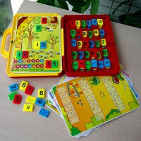 小乖蛋学习小天地数学游戏数字认知早教玩具加减法运算益智力桌游