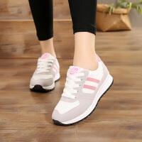 11岁平底13大童女鞋子15初中学生14女孩单鞋10跑步鞋运动鞋女 粉红色323偏小半码 38