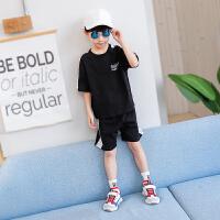 童装男童套装夏装儿童运动纯棉中大童男孩夏季