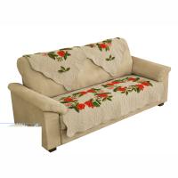 春季新春装饰田园滑沙发套飘窗垫绣花组合沙发巾布艺沙发垫定制