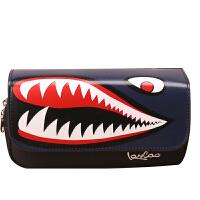 铅笔袋男生文具盒鲨鱼笔袋大容量中小学生文具袋