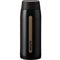 【新店入驻包邮】苏泊尔轻量保温杯 新款AIR纤巧型 304不锈钢380ml 墨黑色KC38CR10