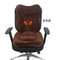 加热坐垫靠垫一体可坐地垫地上餐凳椅子垫办公室久坐冬季毛绒座垫