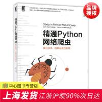 精通Python网络爬虫:核心技术、框架与项目实战 Python网络爬虫爬取技术与反爬公关技巧 数据挖掘工程师计算机专