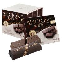 歌斐颂58%黑巧克力纯可可脂40g*6盒散装零食