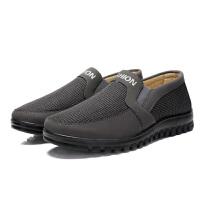 老北京布鞋男单鞋中老年休闲鞋男鞋老人单鞋子中年软底