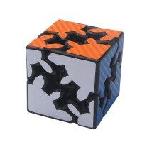 碳纤维布纹齿轮魔方二阶三阶1代2代贴纸齿轮魔方玩具