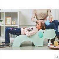 洗头椅加大号儿童宝宝洗发椅子小孩洗头床儿童可坐躺可调节SQ