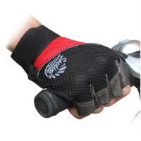骑行手套 男女士半指手套薄款户外运动山地车手套登山短指手套