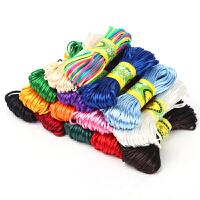 DIY配件材料项链绳吊坠玉线5号中国结线材编织挂件红绳子手链编织