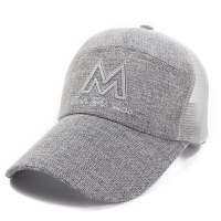 夏天透气网帽男士鸭舌帽遮阳帽太阳防晒女士潮棒球帽韩版速干帽