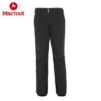 Marmot/土拨鼠秋冬女式冲锋防寒保暖防风滑雪裤休闲裤_D75190