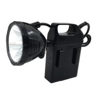 电瓶头灯强光钓鱼灯充电夜钓灯钓鱼电瓶灯矿灯分体式头灯