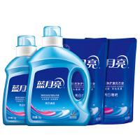 蓝月亮洗衣液薰衣草香10斤套装:2kg亮白瓶+1k亮白瓶+1kg*2亮白袋装
