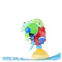 宝宝洗澡玩具儿童玩水电动喷水章鱼婴儿浴室戏水玩具男孩玩具女孩 Cikko电动喷雾风扇 送电池