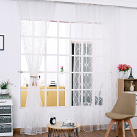 遮光窗帘成品 简约现代 北欧风格 薄纱客厅大气阳台纯色新款k