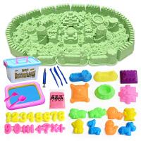 儿童太空沙 魔法沙儿童太空沙玩具沙子套装过家家粘土沙火星彩沙女孩男孩玩具